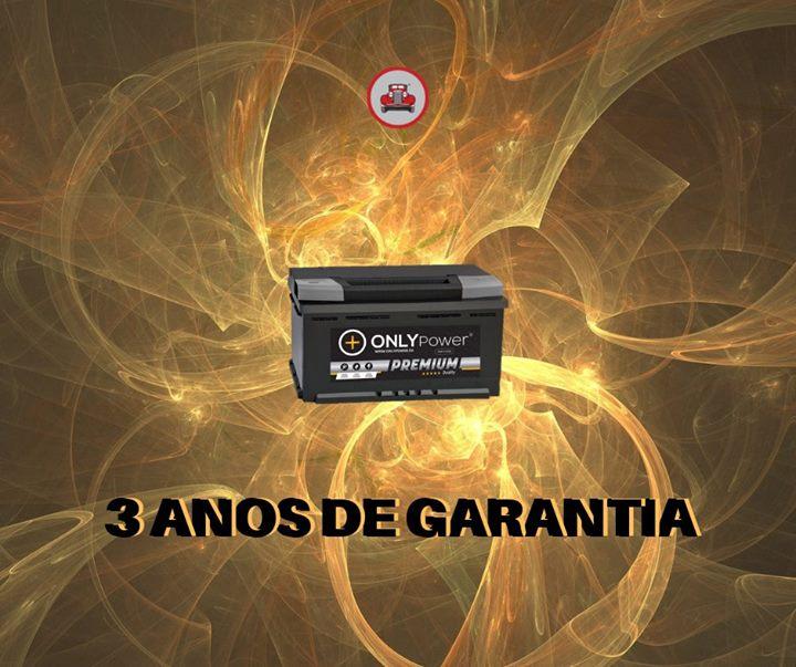 Exclusivo! 3 anos de garantia em baterias Only Power Pr...